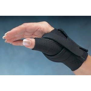 Home & Tools Comfort Cool Arthritis Thumb Splint-Black-Medium-Right Model: Health and Beauty