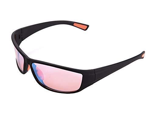 Pilestone Color Blind Glasses TP-017 Adult Size Streamline Titanium Coated