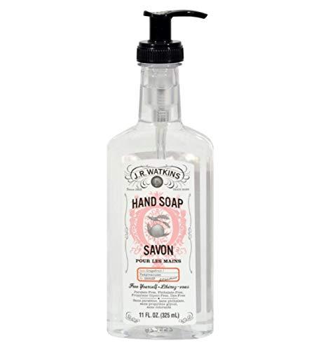 J.R. WATKINS Hnd Soap,Liq,Grapefruit, 11 FZ 2 Pack