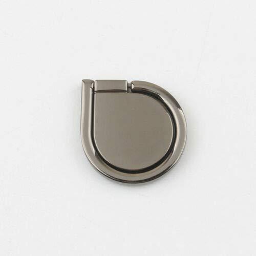 FidgetKute Magic Magnetic Phone Holder Mount 360°Finger Ring Bracket Stand for Cell Phone Black One Size