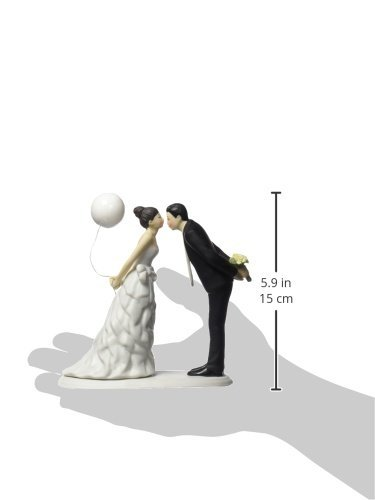 Weddingstar Leaning in for a Kiss Couple Figurine by Weddingstar Inc. (Image #2)