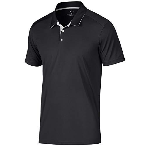 Oakley Divisonal Polo - Blackout - XXX-Large