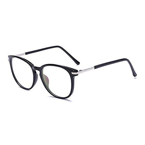 Hommes Noir Goggle bleue Ordinateur Femmes Lunettes fatigue Des Anti Anti Brillant Meijunter claire lunettes Rétro Lentille Lumière ZUqOxqCw7P