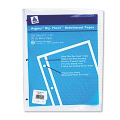 RED20122 - National Rip Proof Reinforced Filler Paper