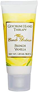 product image for Camille Beckman Glycerine Hand Therapy, French Vanilla, 1.35 Ounce
