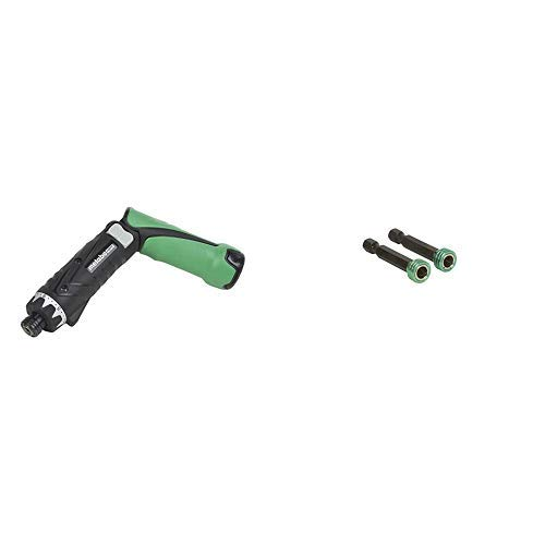 Metabo HPT DB3DL2 3.6V Cordless Screwdriver Kit and Metabo HPT 115003M Phillips #2 Magnetic Lock Bit (2 Pack)