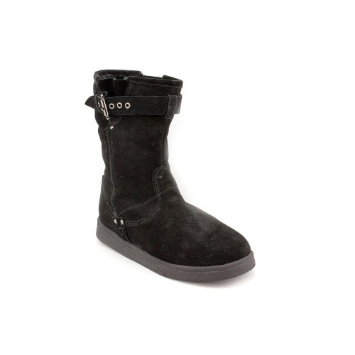 5 Mid Shoes Marc Boots Earra Ladies M Calf New Black Fisher 4zgqaa6