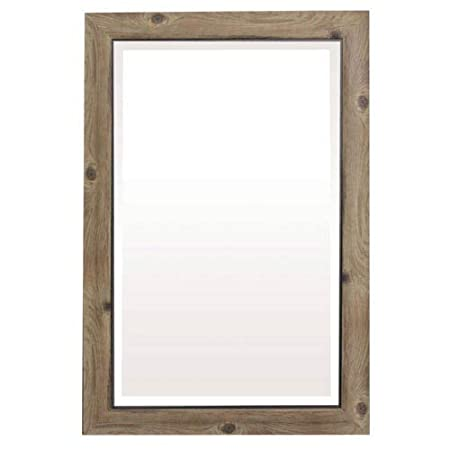 Yosemite Home Decor Yosemite Mirrors, Large, Gray Black