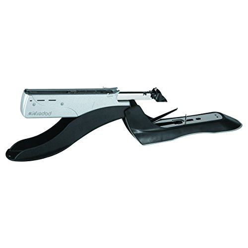 PaperPro inHANCE+100 Heavy Duty Stapler - Two Fingers, No Effort, Spring Powered Stapler - 100 Sheets, Gray (1300) by PaperPro (Image #5)