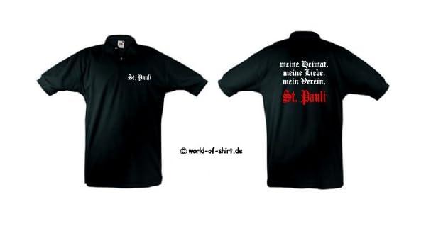 World of Polo de Hombre, camiseta del equipo St. Pauli Mis Patria ...