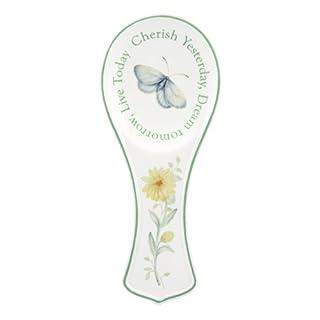 """Lenox Butterfly Meadow Sentiment 8.25"""" Spoon Rest"""