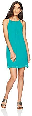 A. Byer Scalloped Edge Shift Dress (Junior's)