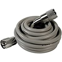 Astatic 9-Ft Rg8x Coaxial Cable Gray For Use W/ Cb Radios & Antennas