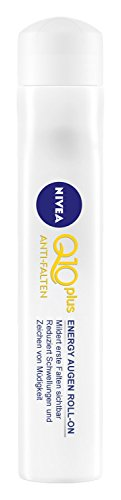 Nivea Q10 Plus Anti Falten Energy Augen Roll-On, 4er Pack (4 x 10 ml)