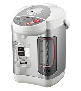 Tatung THWP-40 4-Liter Thermo Water Boiler and Warmer with Stainless Steel Inner (Boiling Water Dispenser)