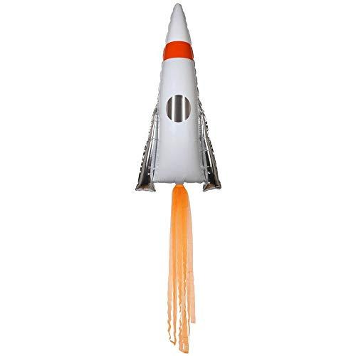 Meri Meri Space Rocket Jumbo Foil Balloon
