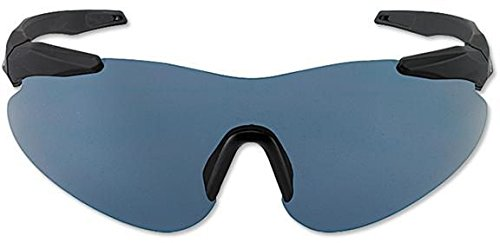 Beretta Shooting Glasses with Policarbonate Injected Lens (Smoke) (Lens Shooting Glasses)