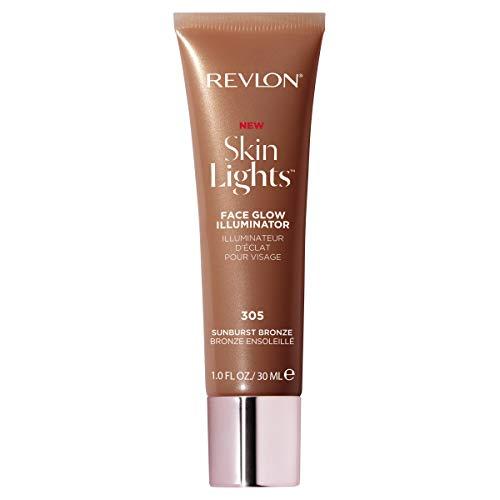 Revlon Skinlights Face Glow Illuminator, Liquid Bronzer, Sunburst Bronze, 1 Fl Oz