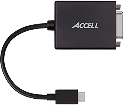 Compatible with Thunderbolt 3 1920x1200 @ 60Hz Samsung Galaxy S8 USB 3.1 Type-C to DVI-D Active Adapter Dell Xps 13 Accell USB-C to DVI Adapter MacBook Pro 2016