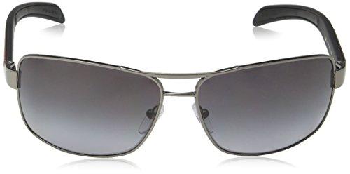 para Gris Sol Prada Demi Shiny Rossa Gunmetal de Linea 0PS 54IS Gafas Hombre O6w0TqO