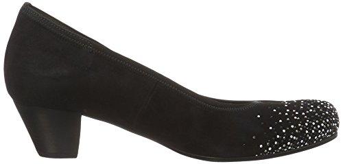 Para De Comfort Zapatos 26 Tacón Strass Gabor pazifik Azul Mujer qIFBB