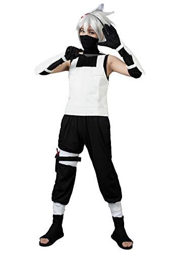 Black Ops Costumes (CosFantasy Japan Anime Hatake Kakashi Anbu Cosplay Costume mp000156 (Men)