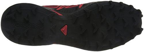 Salomon Herren Speedcross 4, Synthetik/Textil, Trailrunning-Schuhe Rot (Brique-x/radiant Red/black)