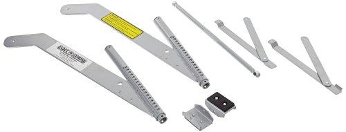 LockNClimb LNC1620 Aluminum 6061 Ladder Stabilizer for 16' and 20' Fiberglass and Aluminum Extension Ladders by LockNClimb
