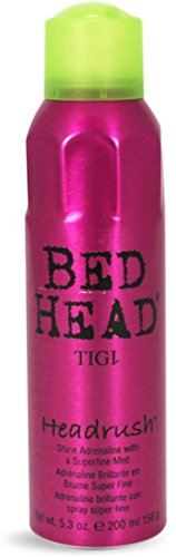 TIGI Bed Head Headrush Spray Shine Mist, 5.3 oz Pack of 3