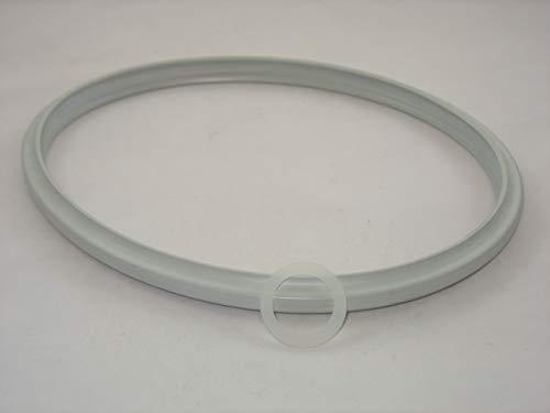 Reparaturset für Schnellkochtopf Fissler Vitavit alte Modelle: Dichtungsring 22cm + Ventildichtung/Flachdichtung