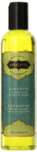 Кама Сутра Ароматические чувственный массаж масла Serenity 8 жидких унций, жидкости 8 унций