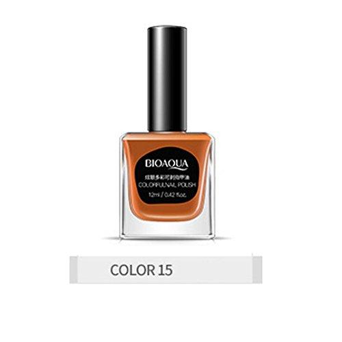 12ml Gel Nail Polish Soak Direct Stripping off UV LED Nail Varnish Pretty Shiny