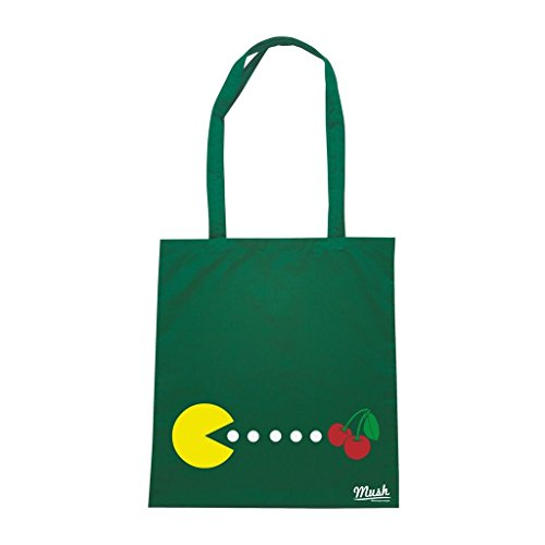 Borsa Pac Man Fruit - Verde Bottiglia - Politic by Mush Dress Your Style