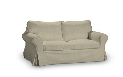 Luxembourg Beige Cover For Ikea Ektorp 2 Seater Sofa Bed Old Model