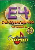 Chartbuster Essential 450 Collection Vol. 4 - 450 MP3G's on SD Card