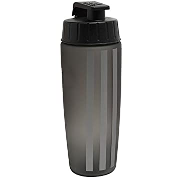 91505077c2 adidas 3 Stripe Performance 750ml Water Bottle Black/Iron Metallic/Black