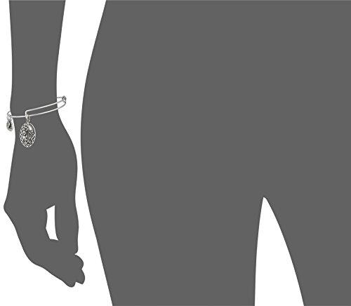 Alex and Ani Godmother Rafaelian Silver Bangle Bracelet by Alex and Ani (Image #3)