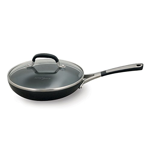 Simply Calphalon 8 Inch Covered Omelette Fry Pan Black