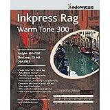Inkpress PRWT3004650 Fine Art Rag Warmtone 300 GSM 4in. X 6in. 50 Sheets, Office Central
