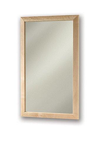 Jensen 62BK244CMPX Maple Frame Medicine Cabinet, 16.5