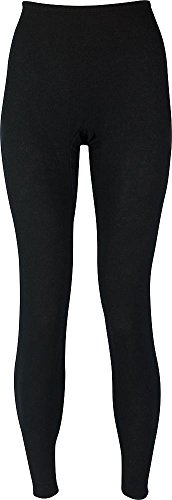 Indera - Womens Long Sleeve HydroPur Thermal Pant 4500DR, Black 34202-Large