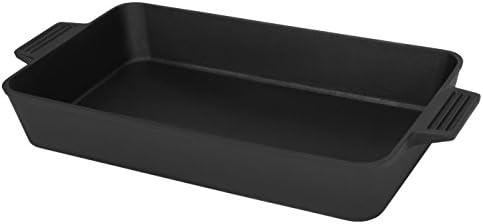 5-Quart Round Aluminum Dutch Oven Dual Handles Kitchen Cookware, Silver