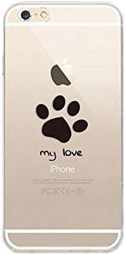 Amazon Xperia 8 ケース カバー クリア Sov42 902so エクスペリア8 Sony スマホケース スマホカバー ハードケース イラスト デザイン 足跡 肉球 犬 ワンコ 肉球デザイン 犬の足跡 犬足跡イラスト Love Mylove ケース カバー 通販