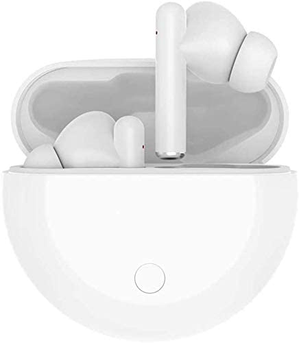 Bluetooth 5.0 in-Ear Headphones, with 24-Hour Charging Box, IPX7 Waterproof, three-D Stereo, Built-in Microphone, pop-up Automatic Pairing Function, Suitable for Apple Airpods Pro/Android/iPhone