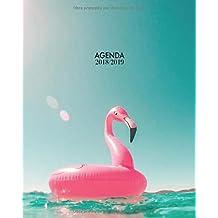 Agenda 2018-2019: Organizador y planificador con citas de inspiración, tamaño 20 x