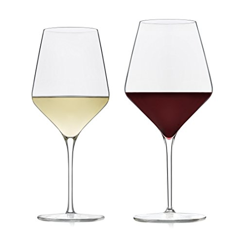 Libbey Signature Greenwich Wine Glass Party Set for Red and White Wines, 12 (Libbey Glass Red Wine Glass)