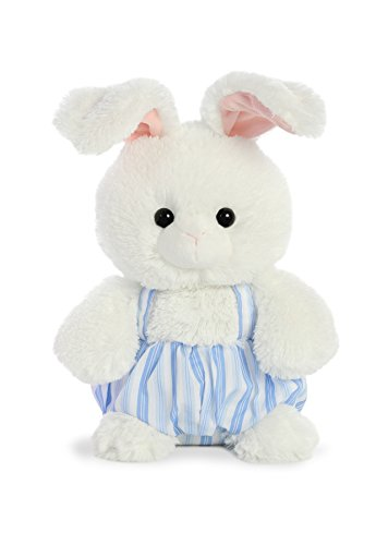 Darling Bloomers - Aurora World Bloomer Bunny Stuffed Animal, Blue, 13