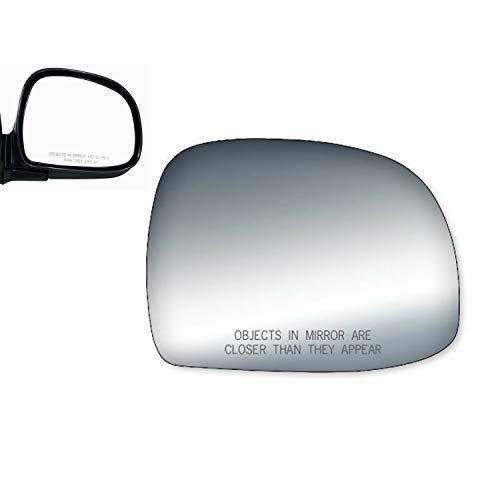 - WLLW Mirror Glass for 1995 Chevrolet Blazer 94-98 Chevy S10 Passenger Side