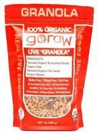 Go Raw 100% Organic Granola, 16 oz, (Pack of 6) by Go Raw