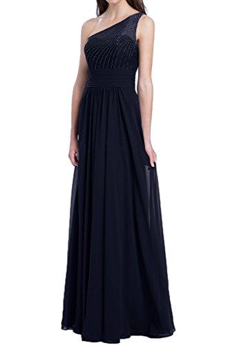 Missdressy -  Vestito  - plissettato - Donna blu navy 44